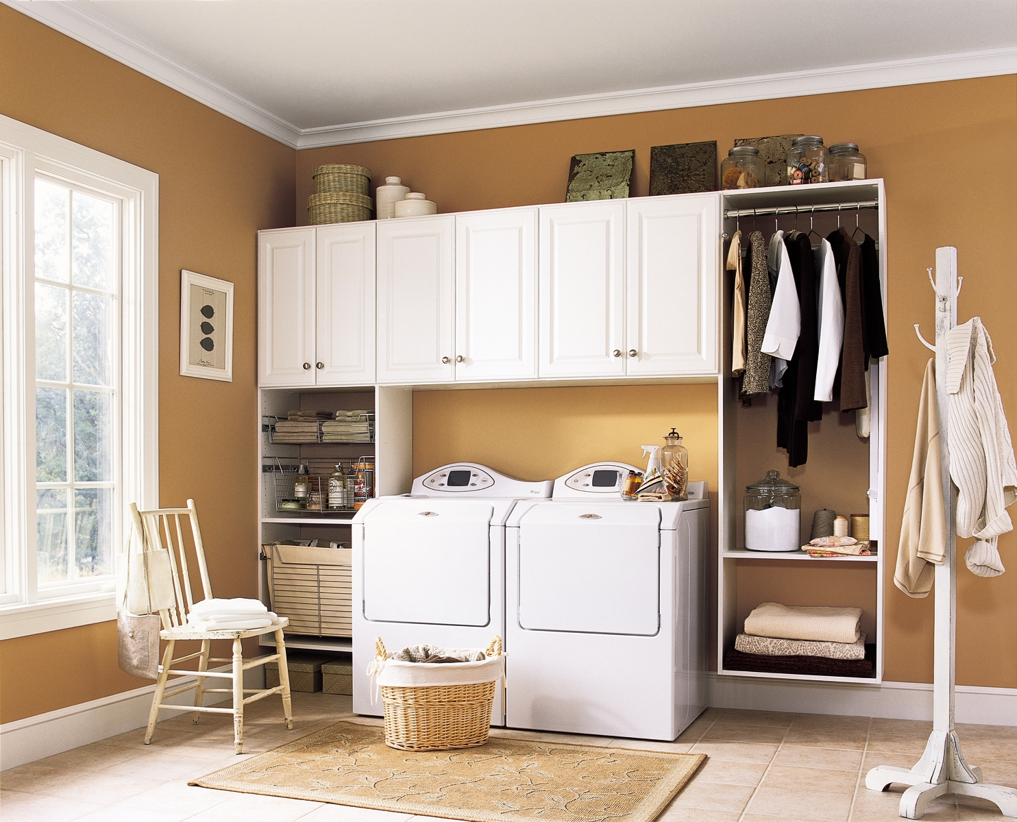 How organized is your laundry room hangerstation for Room organization
