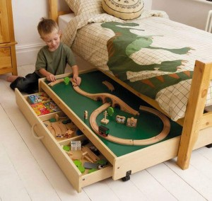 kids play bed space saver idea