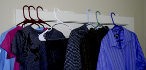 HangerStation is a great tool for staging outfits, packing for a trip